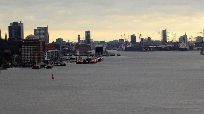 Bild: Abschied vom Hamburger Hafen