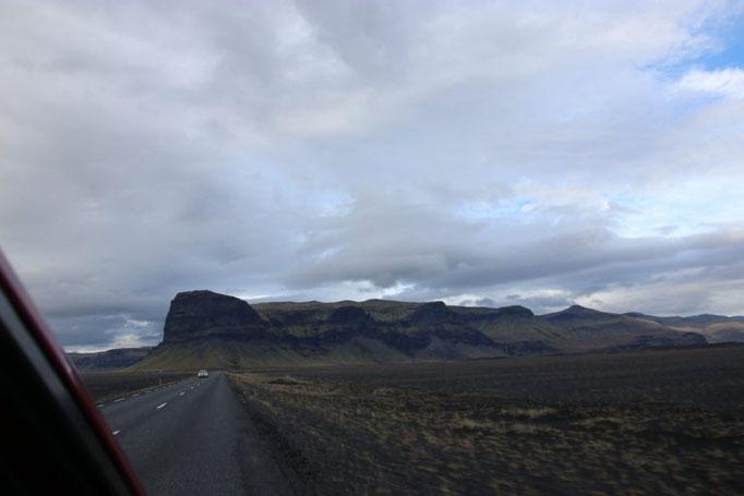 Auf dem Weg zurück nach Reykjavik