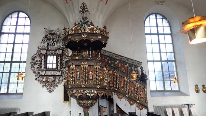 Bild: Nederluleå Kirche Kanzel