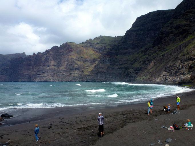 Bild: Playa Los Gigantes -- im Westen