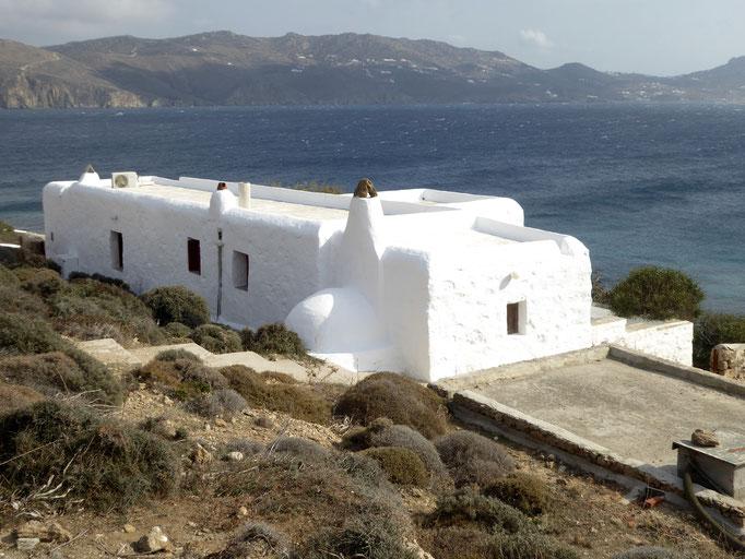 Bild: Kubisches Haus auf der Insel Mykonos