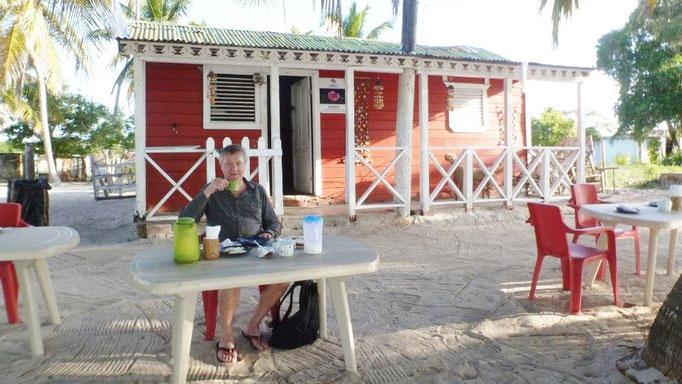 Bild: Meine Unterkunft auf Isla Saona