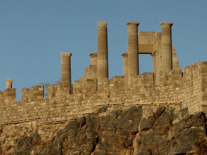 Bild: Die Akropolis von Lindas