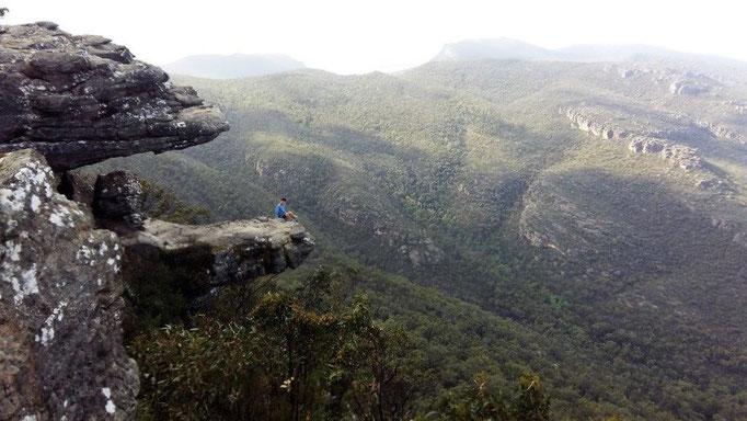 Bild: Blick über die herrliche Landschaft