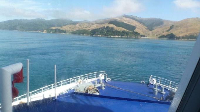 Bild: Die Südinsel Neuseelands