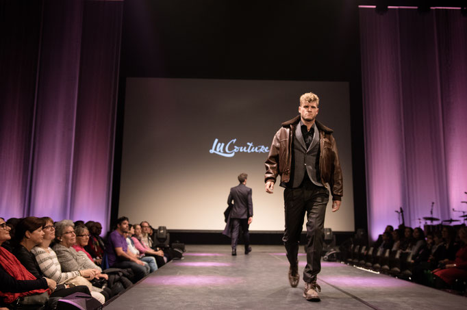 Thomas Odermatt Model LuCouture Fashionshow KKL Luzern Kurt Aeschbacher