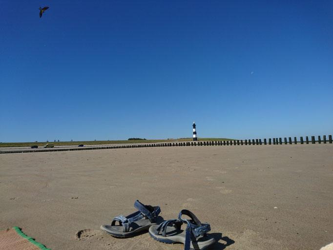 Am Strand bei Breskens