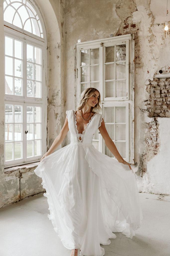 Brautkleider im Boho Stil