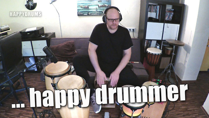 "Live looping session ""I'm a happy drummer"""