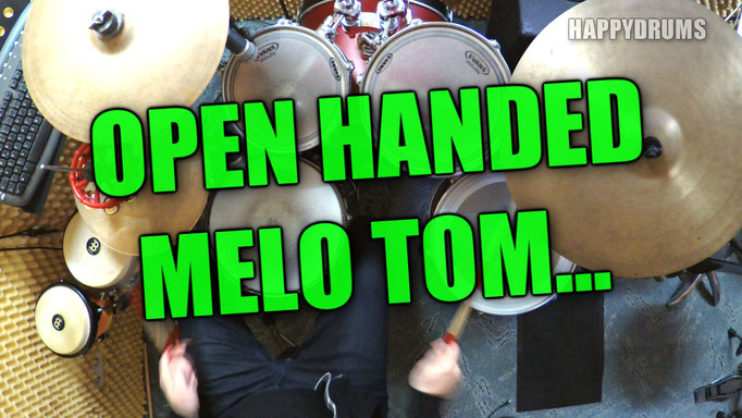 Open Handed Melo Tom Groove