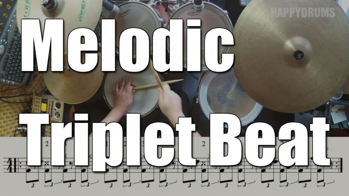 melodic triplet beat