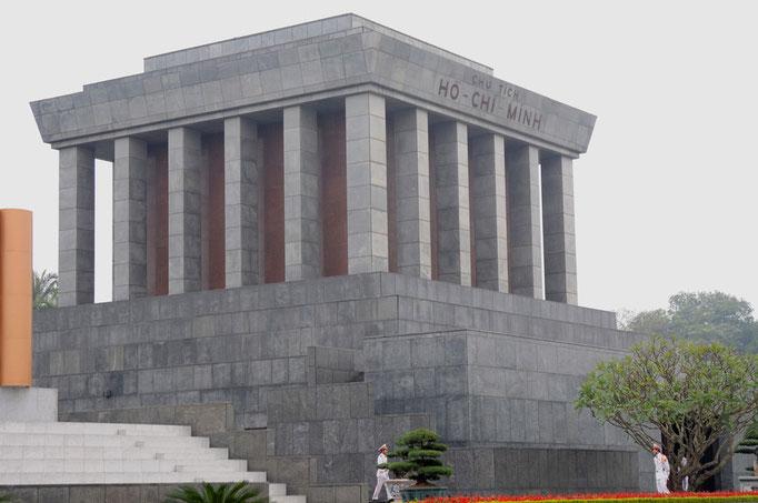 Ho Chi Minh Mausoleum,Hanoi