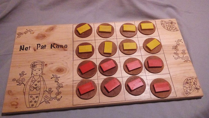 Nei Pat Kono: jeu de stratégie koréen rapide et ludique