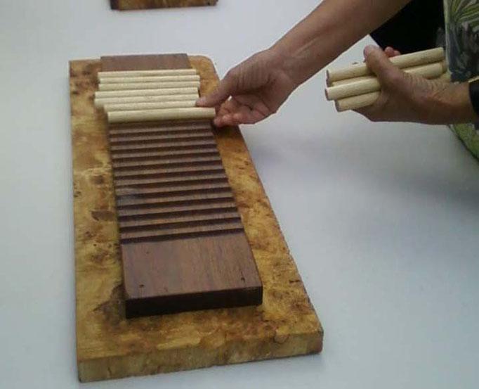 Le jeu des bâtonnets, classique des jeux de nim, popularisé par Fort Boyard