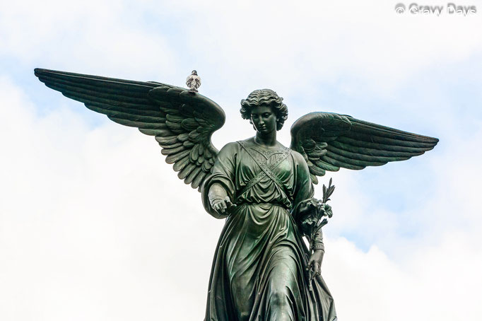 Angel of New York, Central Park New York 2018