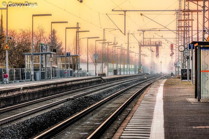 Gleis 2 (Track 2), Butzbach Station, 2017