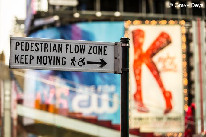 Keep Moving, New York Broadway, 2018