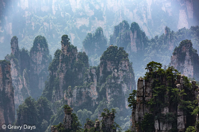 Floating Peaks, Zhangjiajie, China 2019