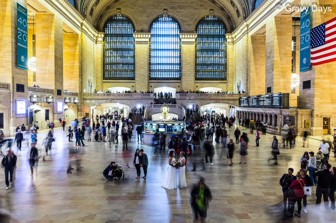 The Wedding, New York Central Station, 2018
