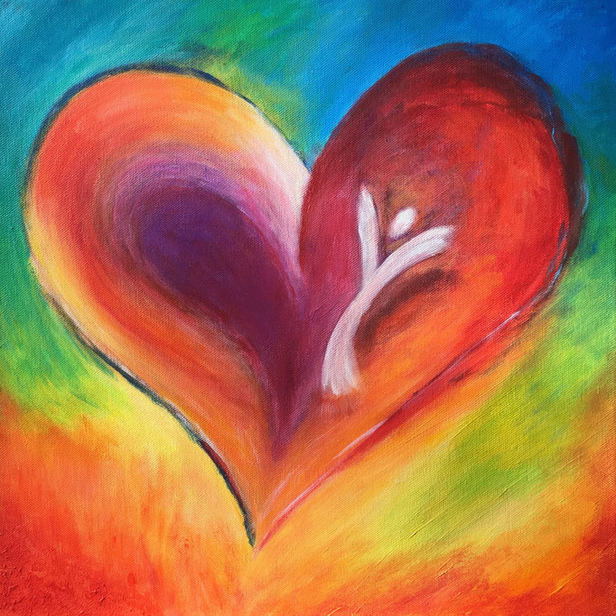 Energiebild - Herzengel