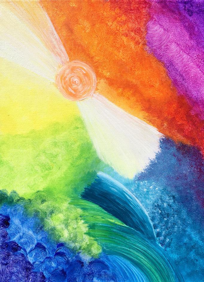 Energiebild - Alle Farben