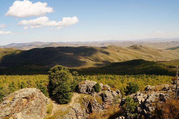 Ausblick vom Tuckhun Kloster