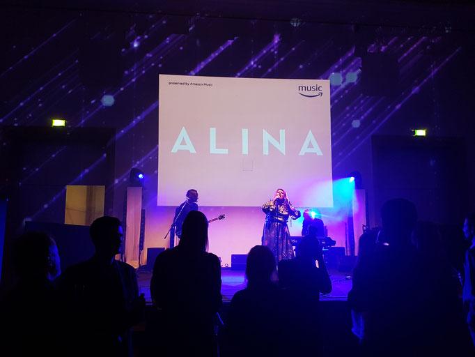 Florian Faab, Alina, Nacht der Medien