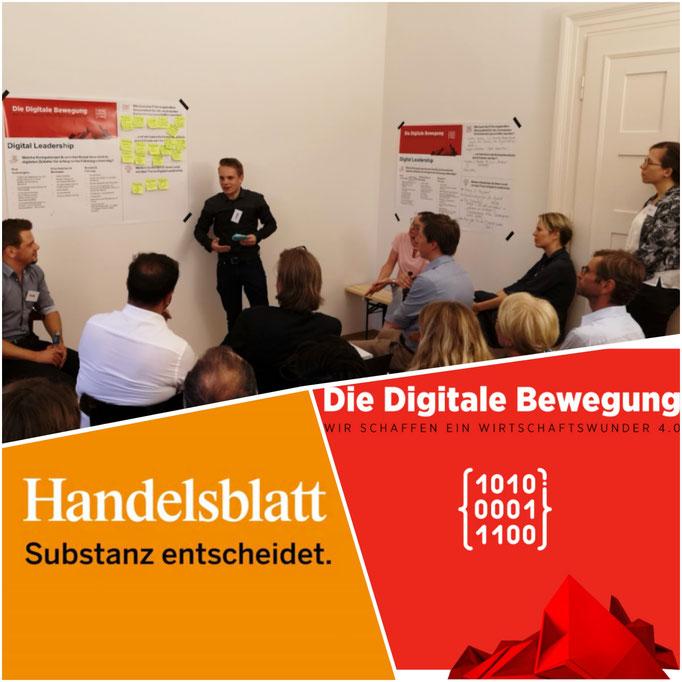 Florian Faab, Handelsblatt, Digitalisierung