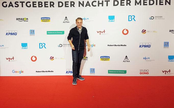 Florian Faab, red carpet