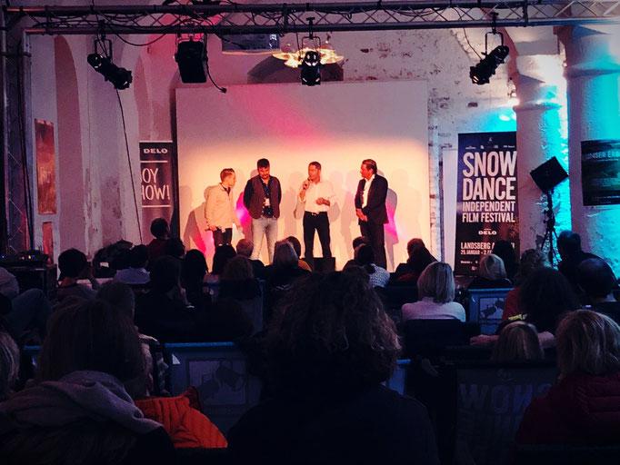 Florian Faab, Udo Schenk, Snowdance Film Festival Landsberg am Lech