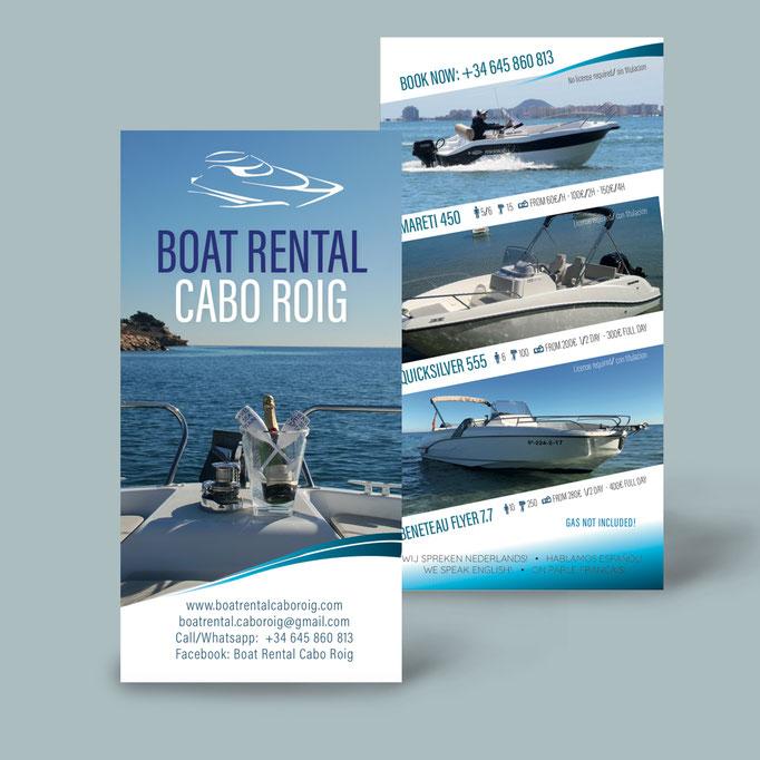 Cabo Roig Boat Rental