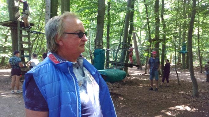 Stephan Havemann im Wald von Kühlungsborn