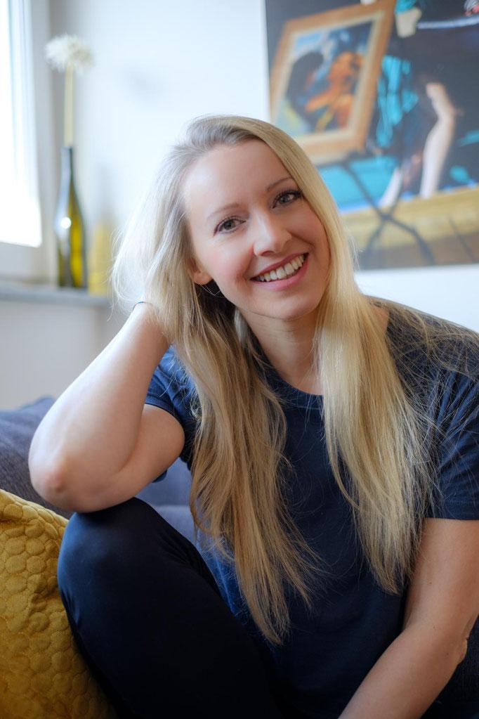 Portrait Schauspielerin Bianca Spiegel