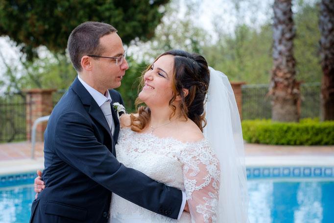 Portrait Brautpaar auf Sizlien