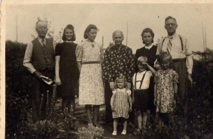 Familie Fritz Paul Katterwe