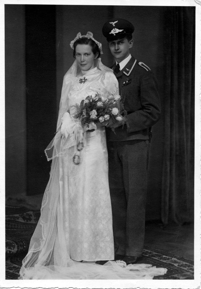 Ruth Katterwe & Gerhard Kromer 1940