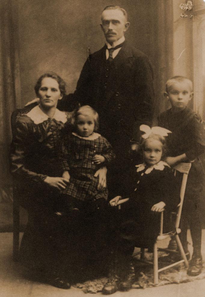 Herman-Paul Katterwe und Luise geb Finke