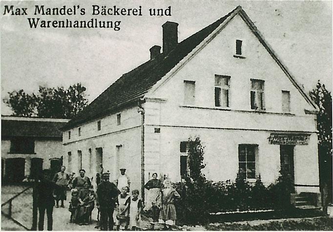 Max Mandel, Bäckerei um 1925