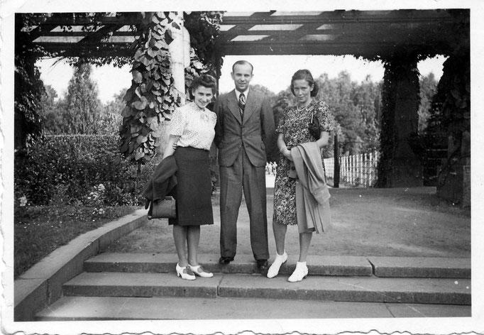 Hildegard,Kurt,Ruth Katterwe 1941