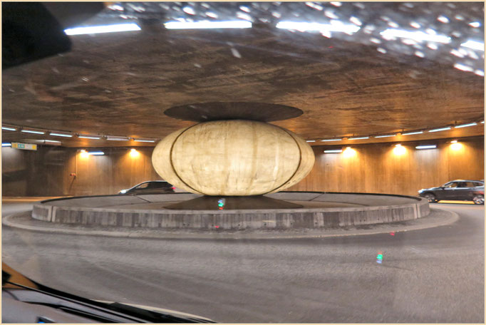 Kriesel im Tunnel