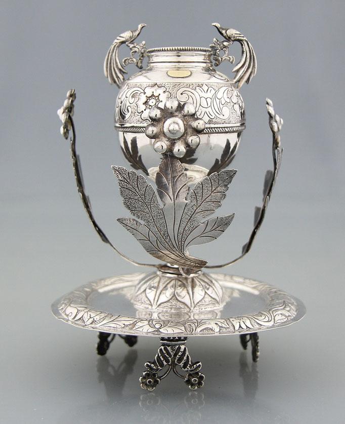 Silber-Bombilla Südamerika 18/19. Jahrhundert