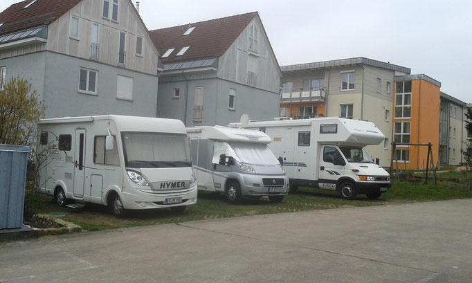 3 Wohnmobilstellplätze