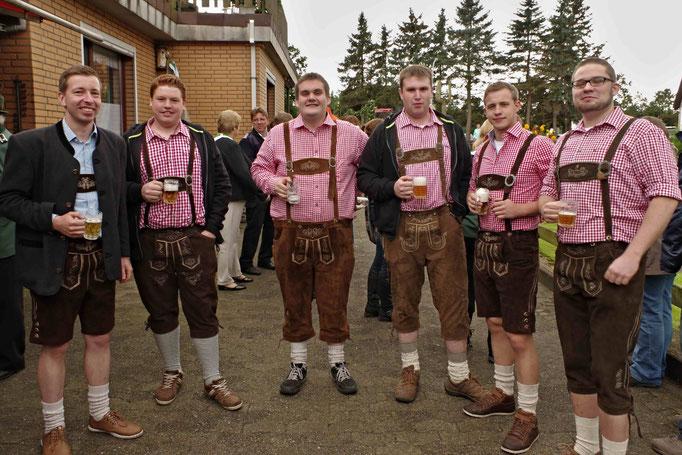 Auch wir in Norddeutschland haben fesche Bua.