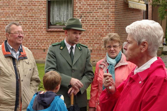 Sogar Besucher aus den Harz waren da.