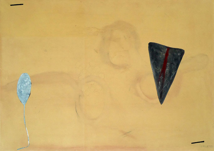 4392 - monotype - 70 x 50 cm
