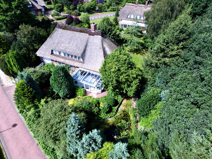 Luftbild Einfamilienhaus Wingst - Flying Photo