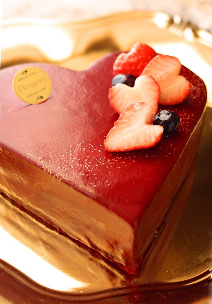 バレンタインケーキ