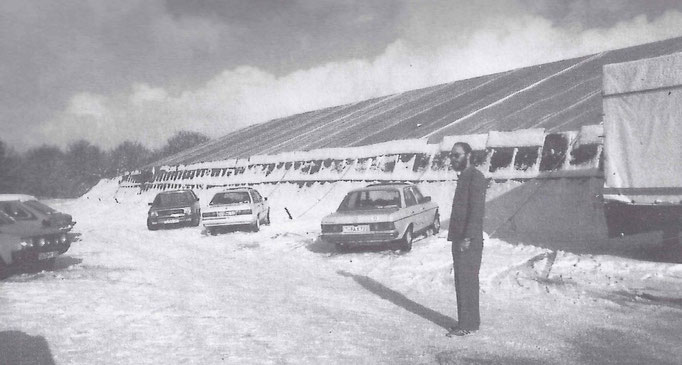 Zelt beim Ringtreffen 1986