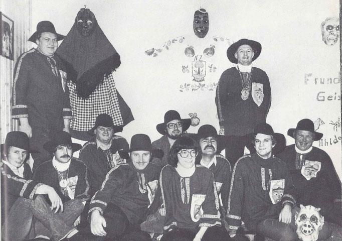 Einweihung Zunftstube 1979