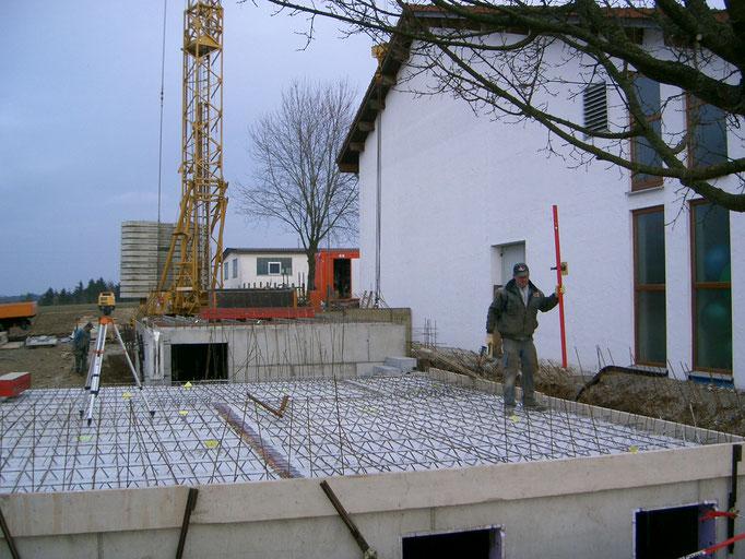 Baubeginn Zunftheim 2009